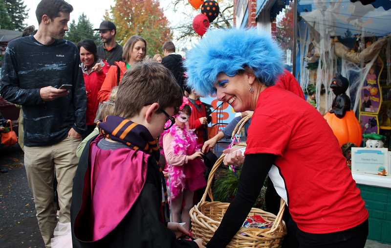 CONNECTION PHOTO: KELSEY O'HALLORAN - Kids, parents and merchants alike will dress up in costumes and celebrate the spooky holiday during the 10th annual Halloween in the Village event Tuesday, Oct. 31 from 3:30-5 p.m. Read about the event on page 4.