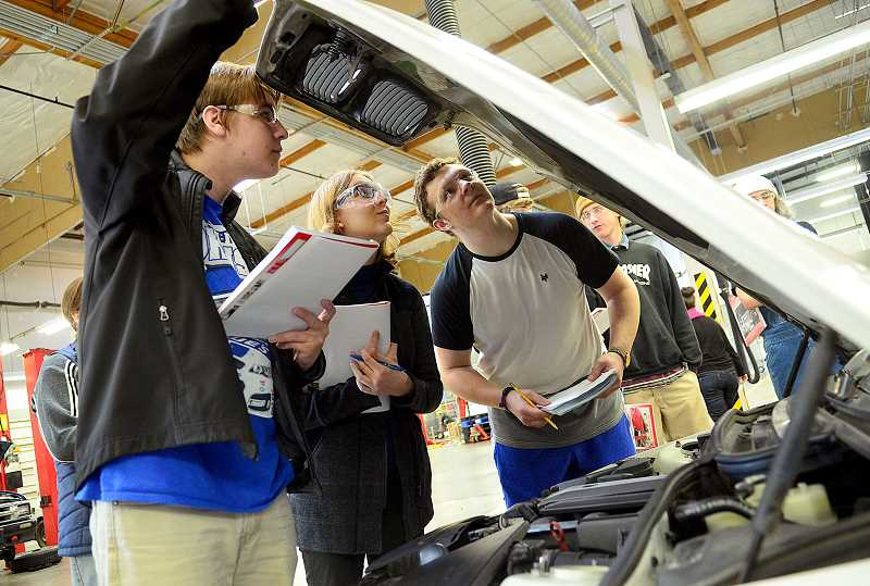 SPOKESMAN FILE PHOTO - Two workforce scholarships for those interested in the skilled trade industry are now available for two Wilsonville graduating seniors.