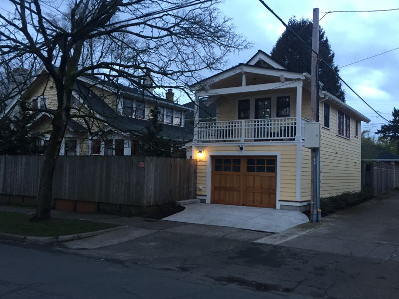 COURTESY BUILDINGANADU.COM - A remodeled garage provides a new dwelling unit in Portland. Marshall Runkel, Commissioner Chloe Eudalys chief of staff, says one affordable accessory dwelling unit on every block could address Portlands housing crisis.