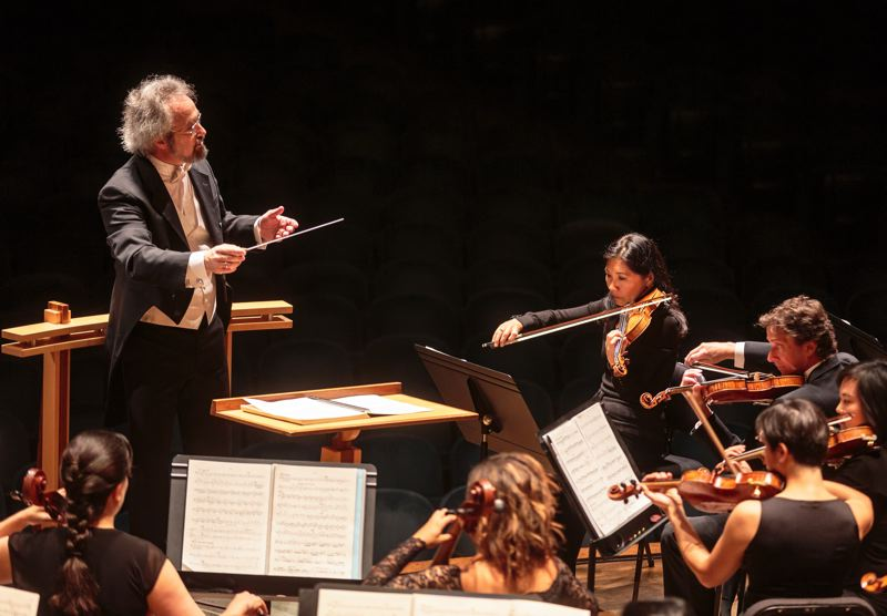 COURTESY: OREGON SYMPHONY - Music Director Carlos Kalmar leads the Oregon Symphony as it takes on socially conscious themes in its 'Sounds of Home' series, starting with immigration with Gershwin's 'Rhapsody in Blue,' Nov. 4-6 at Arlene Schnitzer Concert Hall.