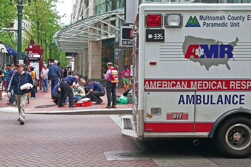 TRIBUNE FILE PHOTO - Multnomah County will postpone a contract deadline to work out the kinks in a proposal intended to make ambulance service more efficient.