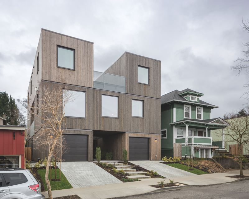 COURTESY: WPA - Works Progress Architectures Doppelganger, a Rubiks cube twist on the standard infill duplex.