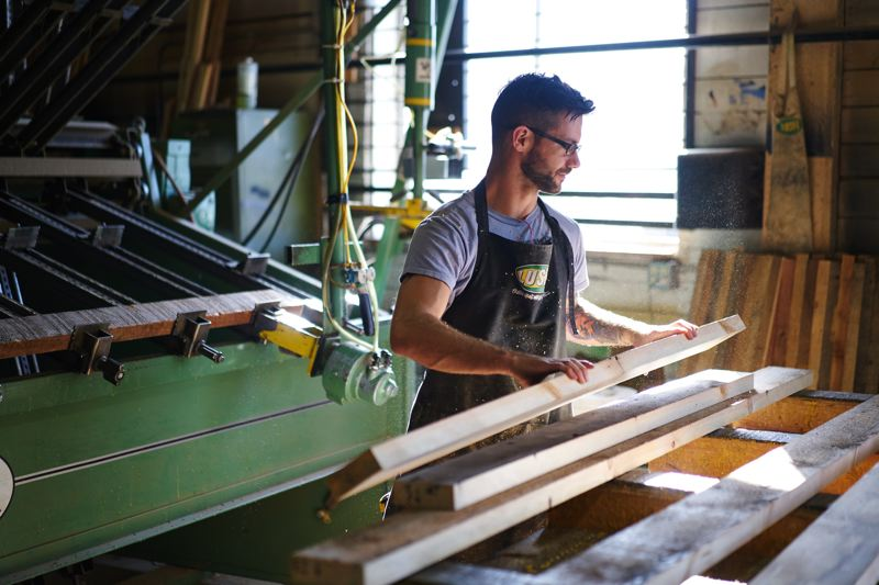 SUBMITTED: LUSH - Lush recently developed a new $1 million facility for its woodshop, which moved in last May.