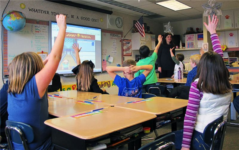 KOIN 6 NEWS PHOTO - Students in a classroom.