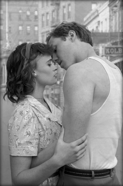 PHOTO BY JENNIFER JETT - Rachel Polley and Sten Eikrem, as Stella and Stanley, share a tender moment.