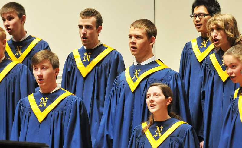 GRAPHIC FILE PHOTO - Newberg High School's Vocal Point is one of four choirs that will perform Nov. 18 in a concert benefitting Newberg Area Habitat for Humanity.