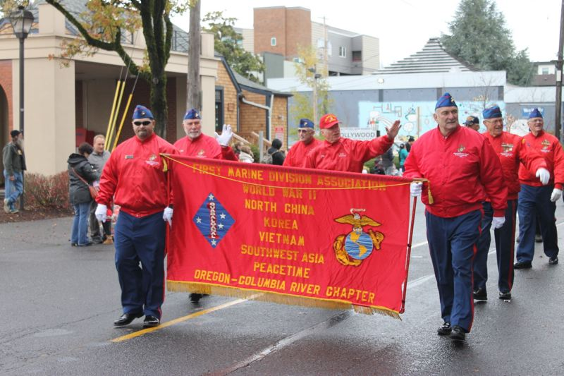 Veterans Day Parades Held Across Middle Tennessee