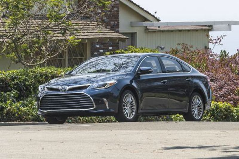 COURTESY TOYOTA MOTOR SALES - The 2017 Toyota Avalon is a quiet and comfortable family car with room for five adults and good power from its standard 3.5-liter V6 engine.