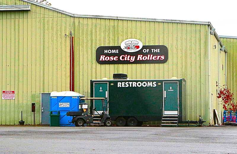 DAVID F. ASHTON - Due to the Fire Marshalls determination that it is not zoned for public assembly, the Rose City Rollers stay at this facility inside Oaks Amusement Park in Sellwood is now limited.
