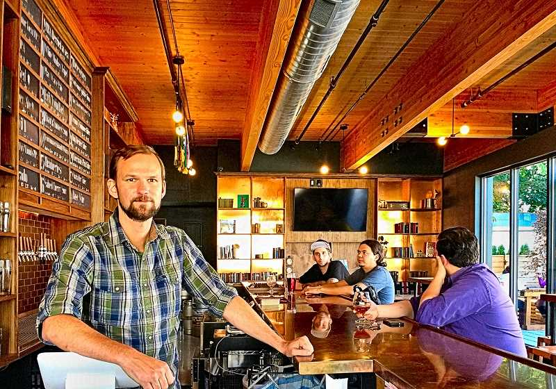 BECKY LUENING - The Proper Pints Sean Hiatt built this Woodstock taproom with head, his heart, and his own two hands.