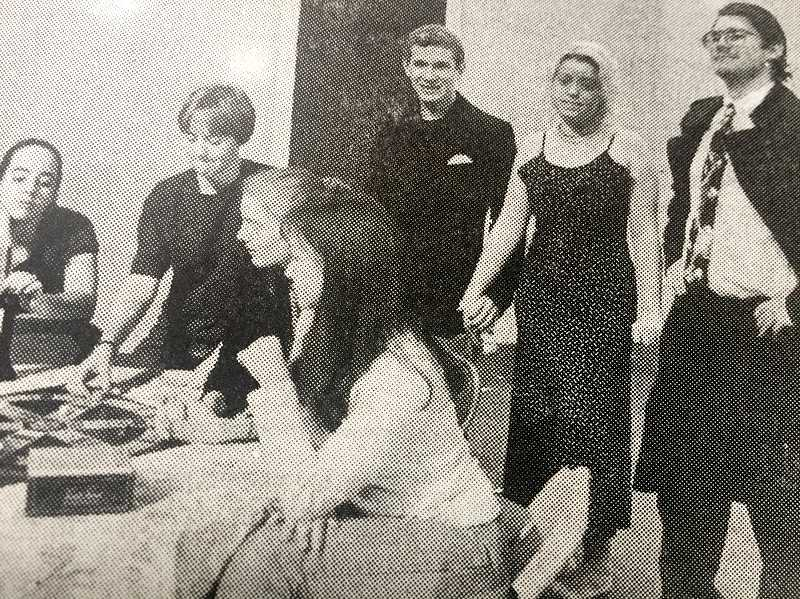 ARCHIVE PHOTO - In 1997, Estacada High School students were preparing to stage a female version of The Odd Couple.