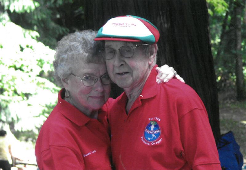 CONTRIBUTED PHOTO - Bonnie and Pete Viviano danced every Saturday for the better part of their 68-year marriage.