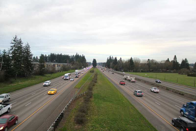 SPOKESMAN FILE PHOTO - During rush hour, traffic in and around Wilsonville slows to a crawl.