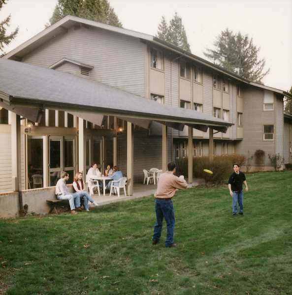PHOTO COURTESY OF MARYLHURST UNIVERSITY - The Villa Maria dorms were used by full-time Marylhurst students during the 1990s but have been empty for 10 years. After a planned renovation, they will serve graduate students during on-campus stays.