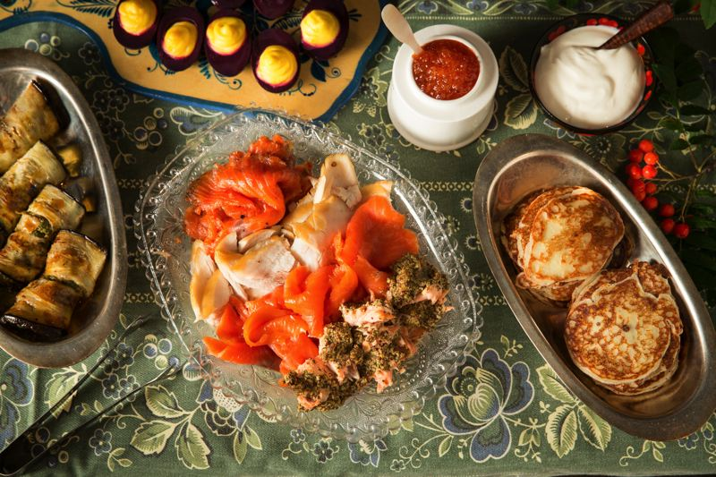 COURTESY: JOHN VALLS - Headwaters' annual Russian Tea Experience is a decadent holiday tradition. Book soon; seats fill quickly.