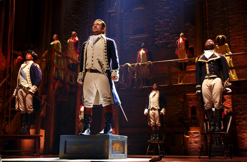 COURTESY: JOAN MARCUS - It's coming. Tickets are going on sale. It's 'Hamilton'