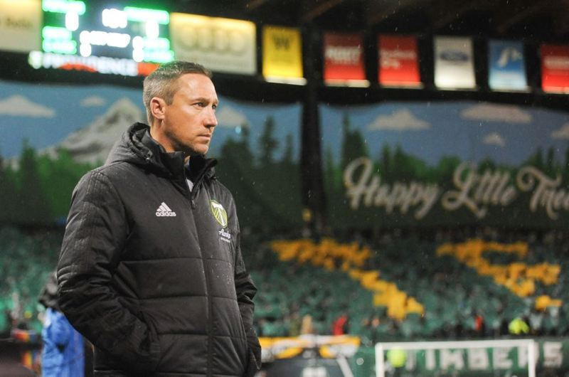 TRIBUNE FILE PHOTO - After coaching the Portland Timbers for five seasons, Caleb Porter has left the Major League Soccer club