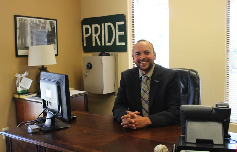 CONTRIBUTED PHOTO - Ryan Carpenter was recently hired as superintendent of the Estacada School District through 2021.