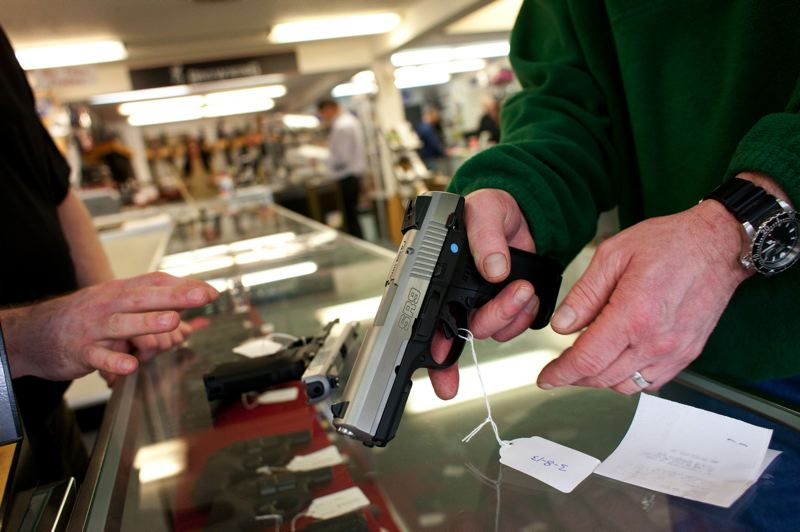 PORTLAND TRIBUBE FILE PHOTO - The author is a founding member of Gun Owners for Responsible Ownership who supportes Oregon Gov. Kate Brown for reelection because of her gun control record.