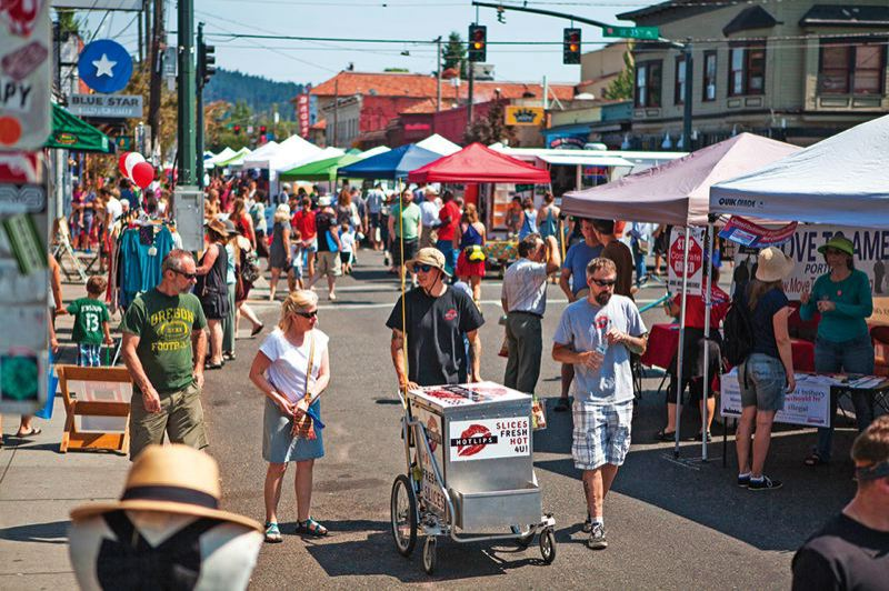FILE PHOTO - The Hawthorne Street Fair is an example of what shopping locally looks like.