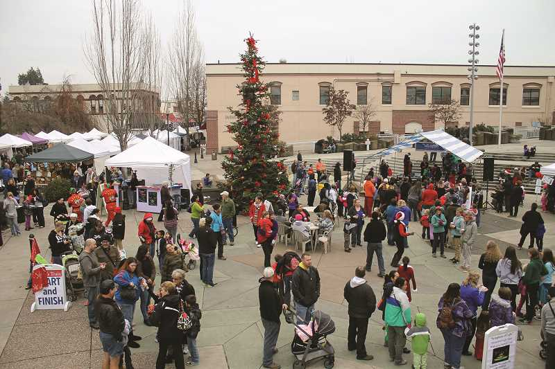 FILE PHOTO - This year's Hillsboro holiday kickoff event is Dec. 2 in downtown Hillsboro.
