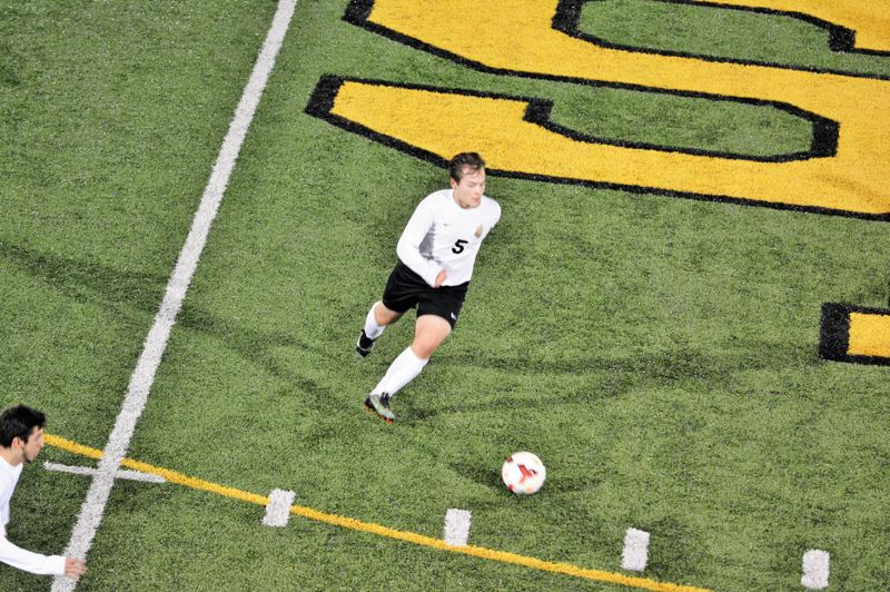 SPOTLIGHT PHOTO: JAKE MCNEAL - Regan Tolman is a second-team midfielder.