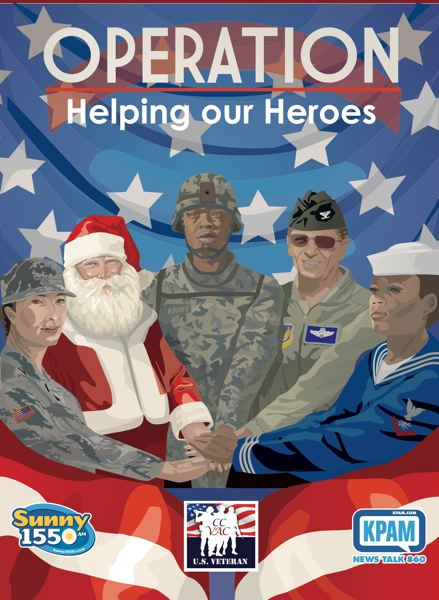 COURTESY KPAM - KPAM goes directly to its listeners to raise money for military personnel in need, in perhaps its final on-air drive.