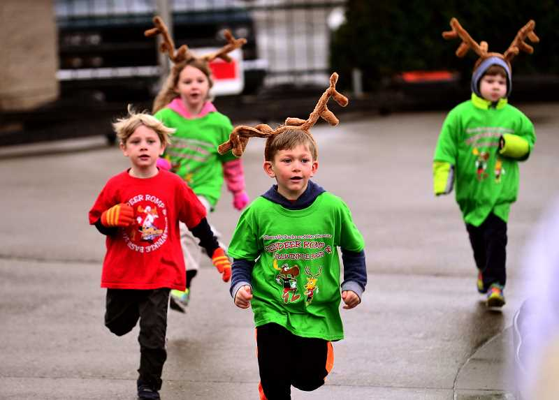 SPOKESMAN FILE  PHOTO - Sign up now for Bullwinkles Kids Dash and Reindeer Romp on Dec. 2!