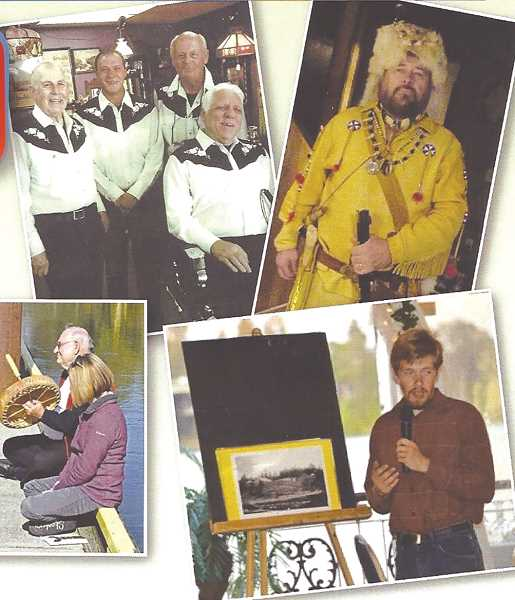 Oregon's History Minstrels will perform Saturday, Nov. 25 in Canby.