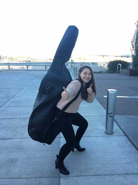 SUBMITTED PHOTO: ALL CLASSICAL PORTLAND - Sophia Suhler, of Lake Oswego, is a sophomore at Lake Oswego High School.