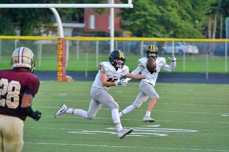 SPOTLIGHT PHOTO: JAKE MCNEAL - Hayden Laughlin (15) is a second-team punter.