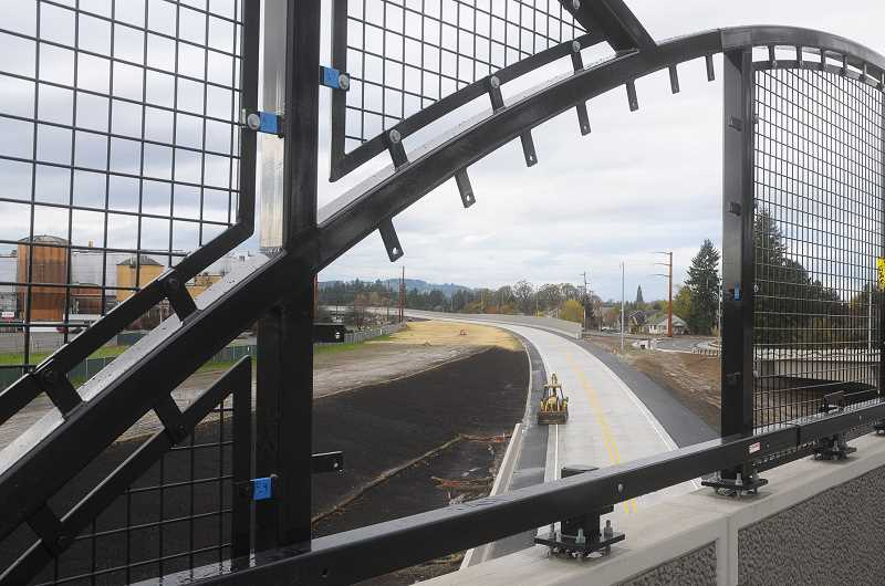 GARY ALLEN - Decorative screens are one of the remaining few additions that must be made before the Newberg-Dundee bypass can be opened, officials said.