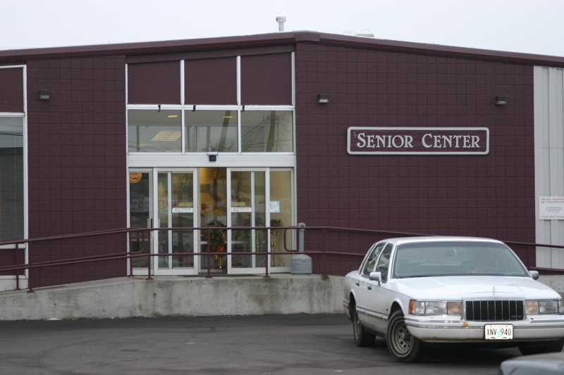 CENTRAL OREGONIAN - Improvements needed to the aging senior center building include new paving of parking lot, repair of ramps leading up to front door as well as new interior flooring and kitchen equipment.