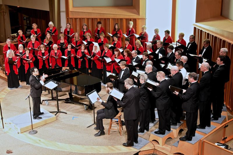 COURTESY PHOTO - The Oregon Chorale will present two concerts at St. Matthew Catholic Church this weekend.