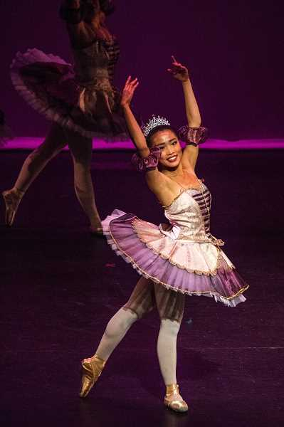 PIONEER FILE PHOTO - A ballerina from Dance Arts studio performs at last year's gala.