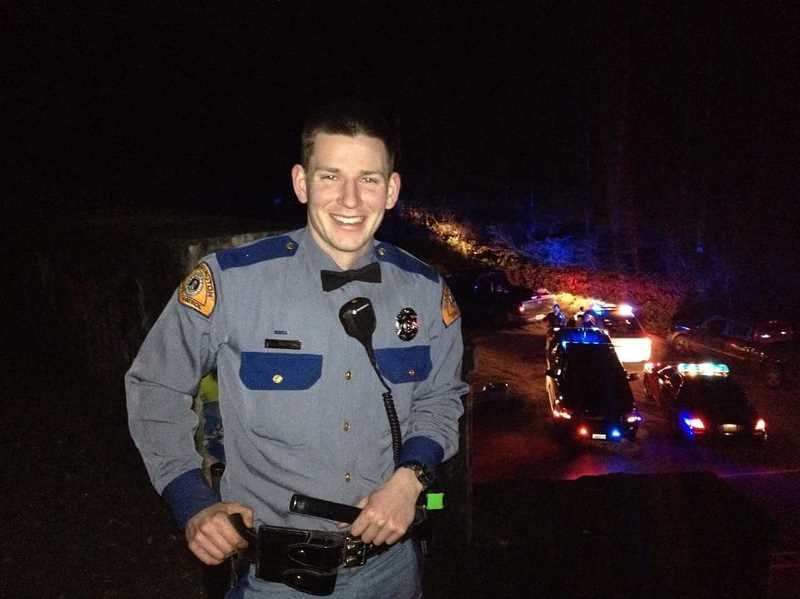COURTESY PHOTO - David Bauders loved his career as a Washington State Trooper and was usually polite and kind to those he pulled over, said his sister, Corinne Horton. Videos of some of Bauders stops can be seen on YouTube.