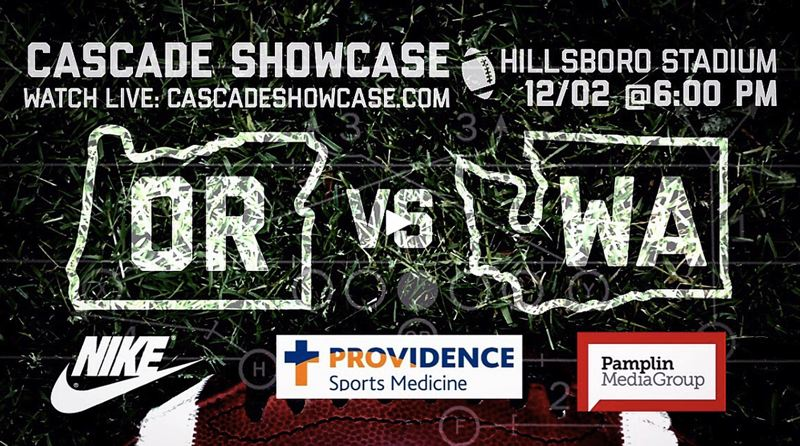 SUBMITTED PHOTO - Future Metro League football players will be on display at the Cascade Showcase this Saturday evening at Hillsboro Stadium.