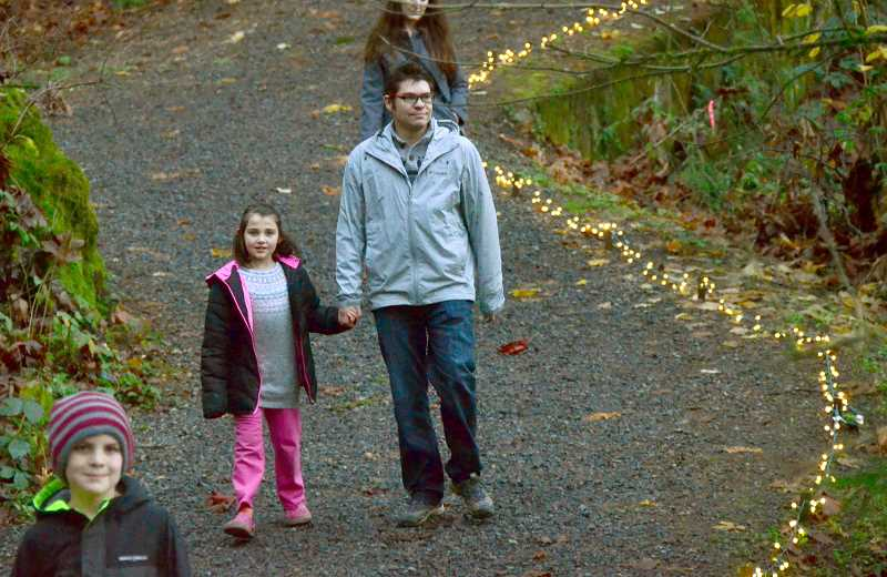 Chris and Louisa Sneath take the full tour around Maddax Woods.