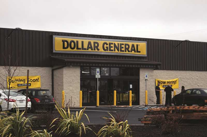 PHIL HAWKINS - Dollar General, located on Douglas Avenue in Gervais, is set to open its doors to the public Dec. 16, a company spokeswoman said. The city said there will be a ribbon cutting at 8 a.m. this Saturday.