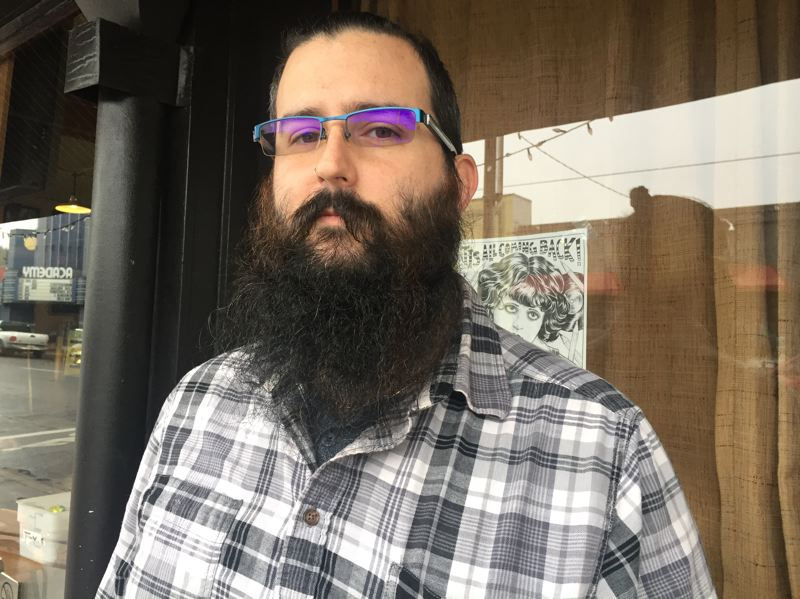PARIS ACHEN/CAPITAL BUREAU - Portland resident Erik Baldwin changed his party affiliation to participate in the 2016 Democratic presidential primary, but he says he wishes Oregon would open up primaries to nonaffiliated and third-party voter registrants.
