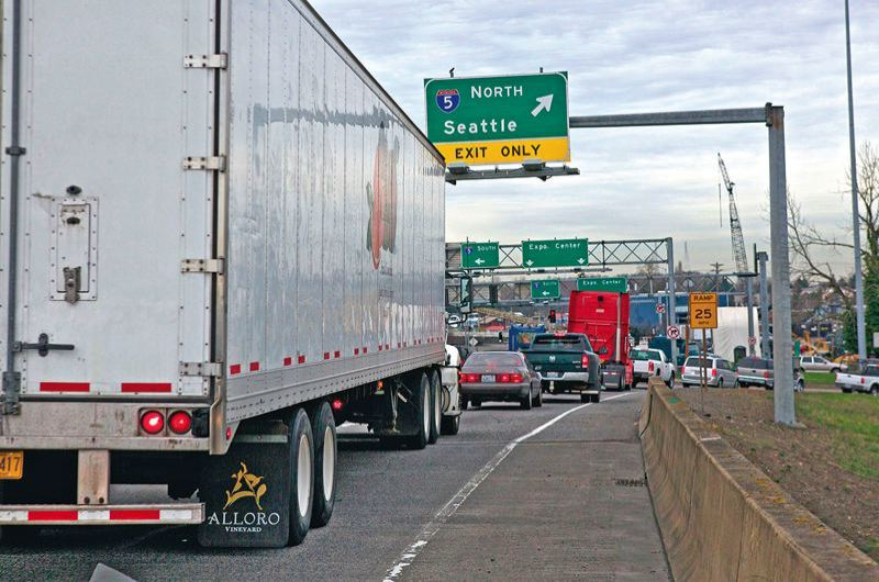 PORTLAND TRIBUNE FILE PHOTO - The City Council supports tolling freeways and possibly other roads in town to reduce congestion.