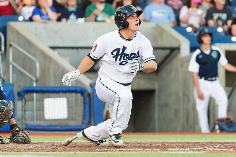 HILLSBORO TRIBUNE PHOTO: CHRISTOPHER OERTELL - Hillsboro's minor league franchise was recently honored with the Freitas Award given to the best operating franchises in the minor leagues.