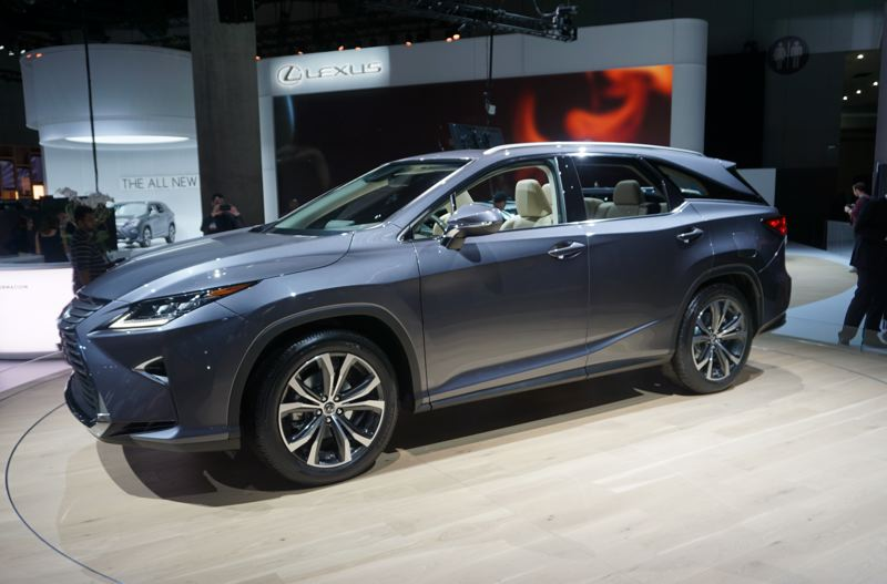PORTLAND TRIBUNE: JEFF ZURSCHMEIDE - The Lexus RX 350L is the same as the standard RX 350, but extended by about four inches to accommodate the third row seating.