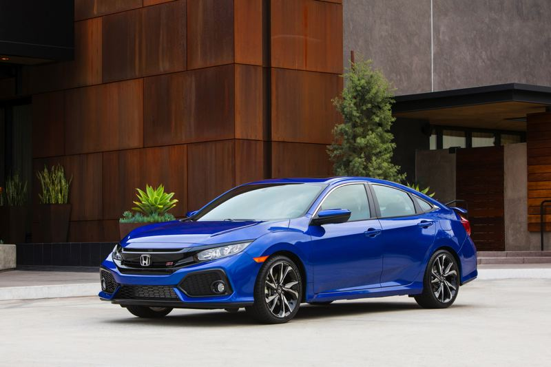 HONDA NORTH AMERICA - The 2017 Honda Civic Si is one of the best performance bargains on the market today. It is available as either a coupe or hatchback sedan.