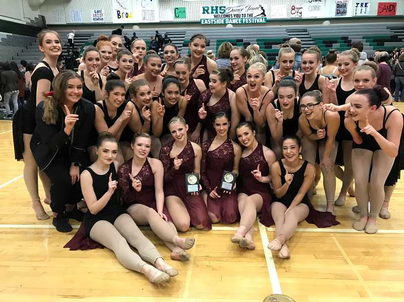 SUBMITTED PHOTO: JENNIFER CHAFFEE - The Canby Cougars are riding a nice streak of momentum on the heels of a successful fall competition schedule, and look to take their success all the way to another state championship competition.