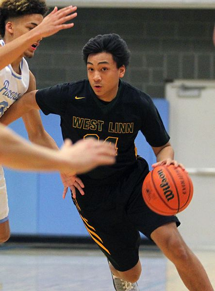 TIDINGS PHOTO: MILES VANCE - West Linn junior guard Drayton Caoile will take on a bigger role for the Lions this year as they chase a fifth straight Three Rivers League title.