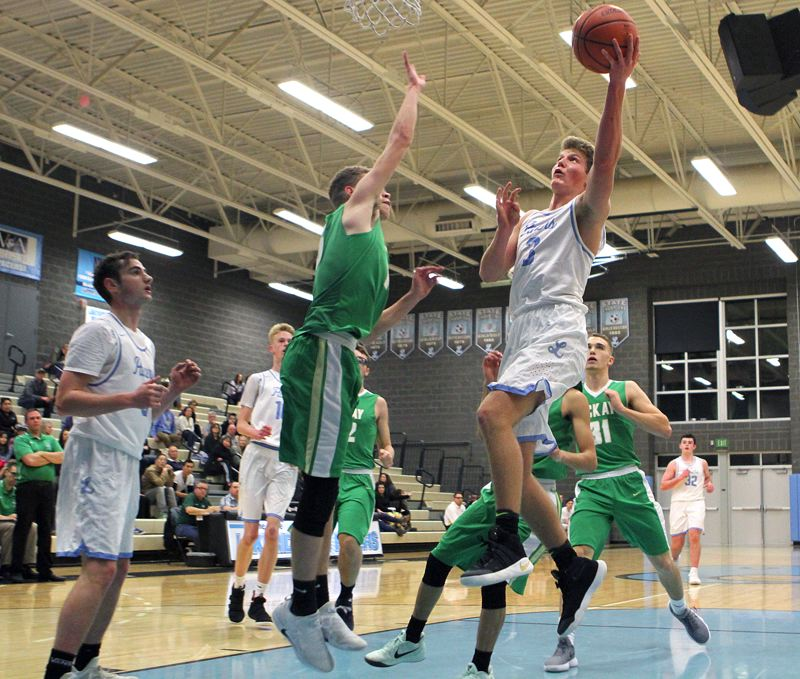 REVIEW PHOTO: MILES VANCE - Lakeridge senior guard/forward John Struik is expected to provide much needed strength and inside presence for the Pacers this season.