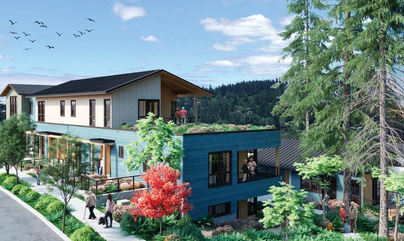 SUBMITTED: SEA - The Rose Villa senior living campus is located near the Willamette river in Milwaukie.