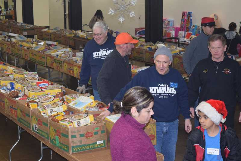 Sign-ups to receive food boxes and toys for children through the annual food and toy drive in Canby is fast approaching.
