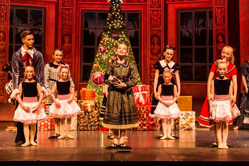 COURTESY PHOTOS: HP STUDIOS LLC - Thirteen-year-old Kaley Cloutier played the role of Clara during Inspire Dance Center's 2016 production of 'An Evening with the Nutcracker.'